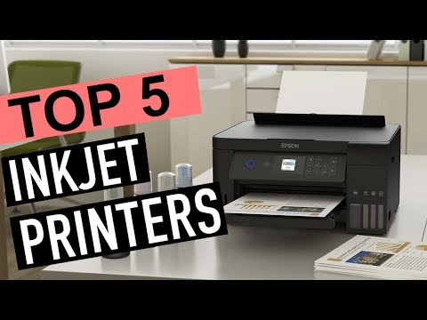 BEST 5: Inkjet Printers 2018