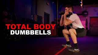 Total Body Dumbbell Workout with Damian!