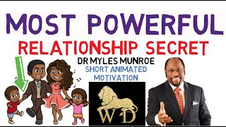 😱😱FORGET IT, LOVE WON'T DO IT   THIS IS WHAT YOU REALLY NEED   DR MYLES MUNROE