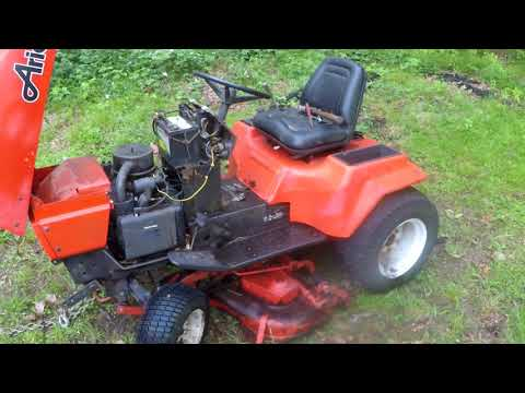 Ariens GT17 tractor Project Part 1