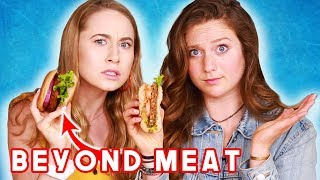 Dietitian Reviews Meatless Burgers (Beyond, Impossible & more!)