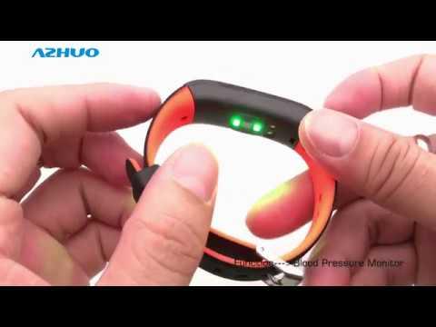 P1 Smart Band Blood Pressure Monitor