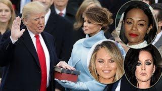 Celebs React To Donald Trump