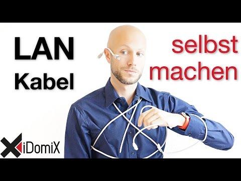 Netzwerkkabel LAN selber machen | iDomiX