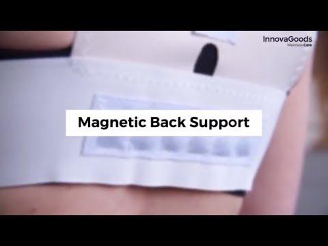 Corrector de espalda magnético. ¡Alivia los dolores y mejora la postura!