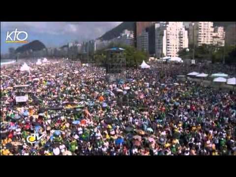 Résumé de la messe de clôture des JMJ à Copacabana