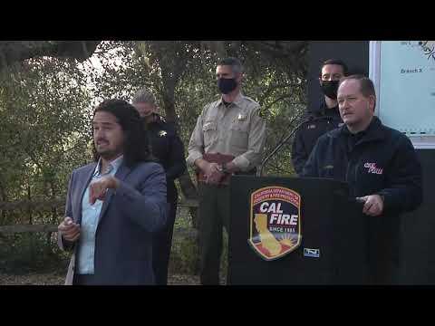 CZU Fire Press Conference 8/29/20