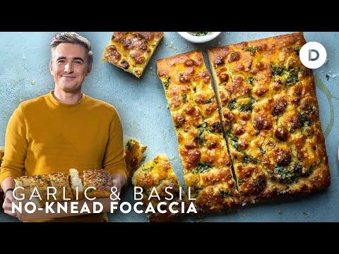 The NO KNEAD BREAD you have to make! EASY Focaccia Recipe!