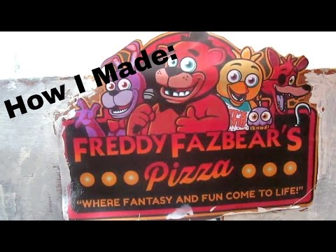 How I made my FNAF Pizzeria for MLP