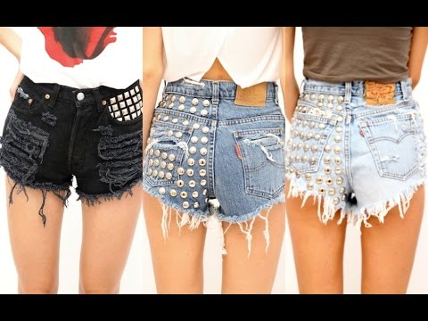 Как сделать шорты, джинсовые шорты женские, джинсы шорты