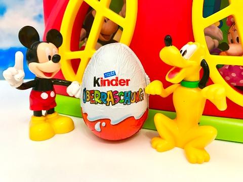 MYSZKA MIKI i JAJKO NIESPODZIANKA po Polsku - Klub Przyjaciol Myszki Miki/Mickey Mouse/Surprise egg