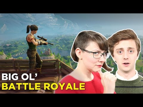 FORTNITE 20-versus-20-versus-20-versus-20-versus-20 – Jenna and Brian Join a Big Ol Team