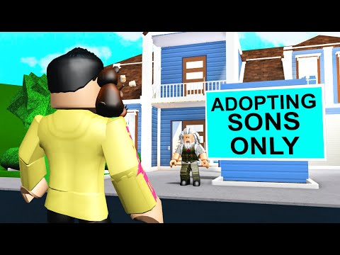 This GRANDPA Wanted SONS ONLY.. You Won't BELIEVE What He Made Me Do! (Roblox Bloxburg)