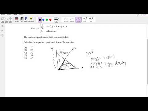 SOA Exam P Question 138 | Uniform Expectation - YouTube