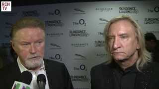 The Eagles Don Henley & Joe Walsh Interview Sundance London 2013