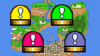 How To Get ALL SWITCHES | Super Mario World