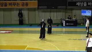 2019 단별검도대회 남자 3단부 64강 - 마영빈 vs 임해승 [검도V] kendov