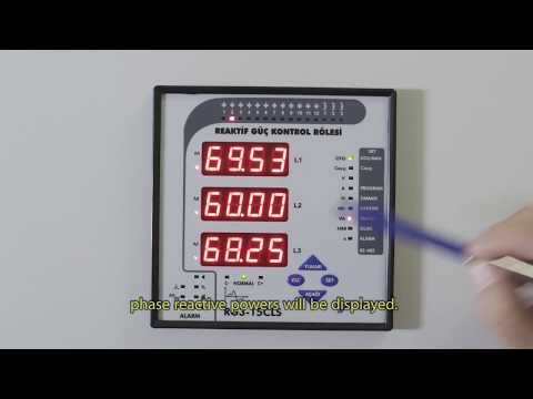 RG3-15 CLS Power Factor Controller Apparent Powers