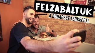 Felzabáltuk a Budapest-térképet!