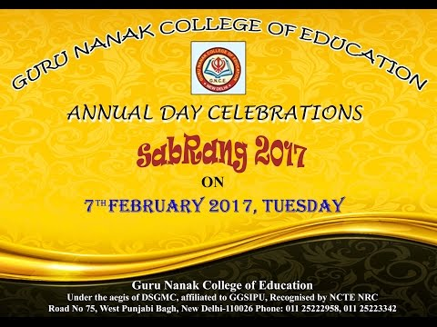 Guru Nanak College of Education video cover2