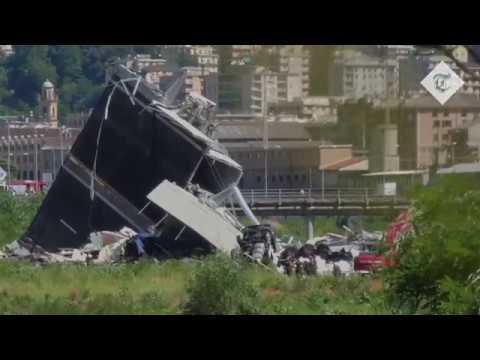 Survivors tell of miraculous Genoa bridge escape