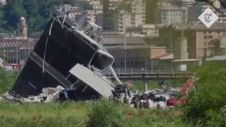 Survivors tell of miraculous Genoa bridge escape