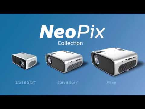 Philips NeoPix Start+ (QVGA, 650lm, Akku, 1.4:1, LCD, LED)