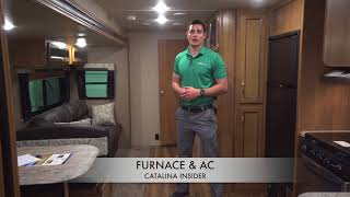 Coachmen Catalina Insider: Furnace & A/C