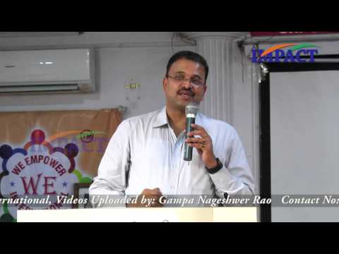 Love our Country | JD Lakshmi Narayana | We Empower Hyd 2016