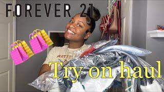 FOREVER 21 | Try On Haul