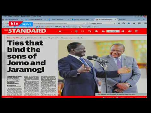 The other side of Raila and Uhuru
