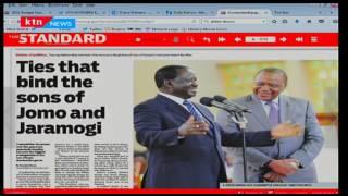 The other side of Raila and Uhuru