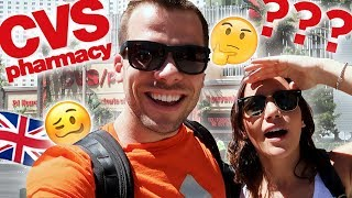 Brits Explore CVS for the FIRST TIME!   Vegas Series
