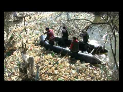 Zbog zagađenja Južne Morave protestovali ribolovci iz čitave Srbije