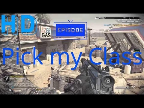 Subscribers Pick my Class Part 1 CoD Ghosts Commentary
