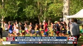 6th Annual KCSO Honor Run supports children of fallen sheriff