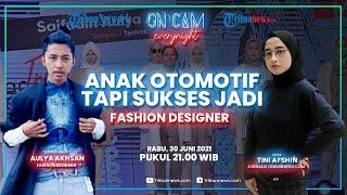 Anak Otomotif Tapi Sukses Jadi Fashion Designer, Akshan Akui Pentingnya Support dari Keluarga