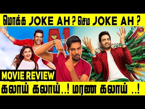 A1 Movie Review  | Santhanam, Tara | Johnson K | Santhosh Narayanan | S. Raj Narayanan | #Nettv4u