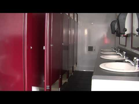Portable Restrooms Trailer | Portable Restrooms for Sale | 11 Station Male Dominant Restroom