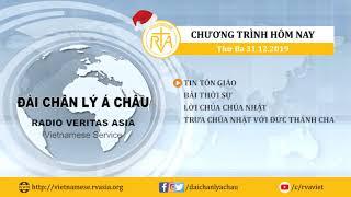CHƯƠNG TRÌNH PHÁT THANH, THỨ BA 31122019
