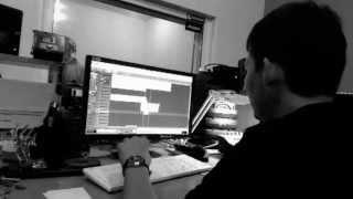 Хват - Запись в студии
