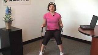 SparkPeople Resistance Band Workout