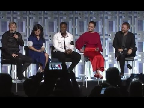 Star Wars The Last Jedi Panel FULL - Star Wars Celebration 2017 Orlando