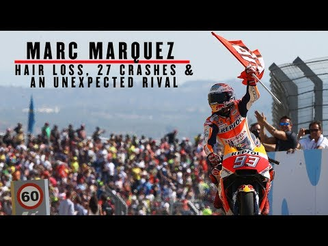Marc Marquez: Hair loss, 27 crashes and a surprise rival