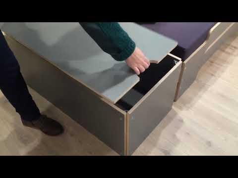 Müller Small Living - Bettkasten für die Stapelliege, Design Rolf Heide