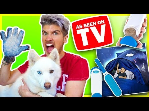 TESTING WEIRD AS SEEN ON TV PRODUCTS! | Do They Really Work?!