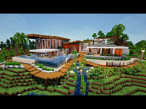 Bright Modern House Minecraft Map