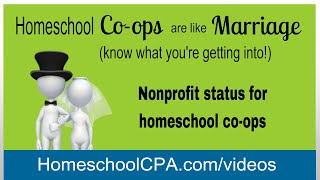 Nonprofit status for homeschool co-ops