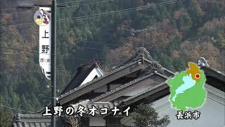 淡海をあるく 上野の冬オコナイ 長浜市