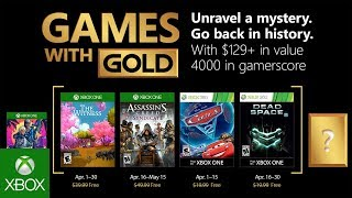Games With Gold di aprile